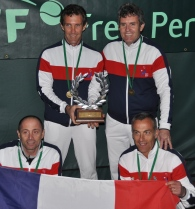 SENIOR 50 TENNIS WORLD CHAMPION 2012